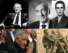 """Eliezer """"Elie"""" Wiesel, born September 30, 1928, is a Romanian-born Jewish-American writer, professor, political activist, Nobel Laureate, and Holocaust survivor. He is the author of 57 books, including Night, a work based on his experiences as a prisoner in the Auschwitz, Buna, and Buchenwald concentration camps."""