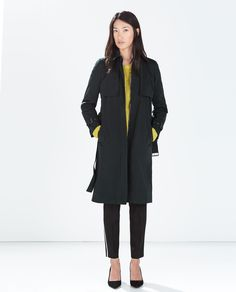 TRENCH COAT WITH BELT from Zara