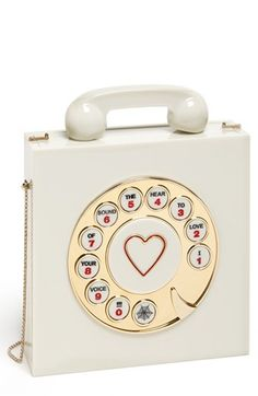 Charlotte Olympia 'Chatterbox' Clutch | Nordstrom