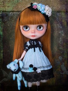 Custom Blythe Doll ~ Redhead | This little girl is for Ana M… | Flickr