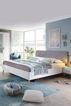 Rozkladcia posteľ so zásuvkami Bergen cm Bergen, Helsinki, Interior Design, Bedroom, House, Furniture, Home Decor, Rooms, Houses