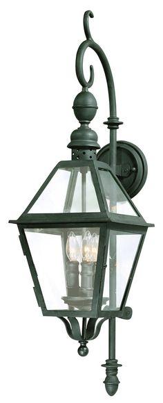 Troy-CSL Lighting B9621NB Townsend 3 Light 33 inch Natural Bronze Outdoor Wall Lantern