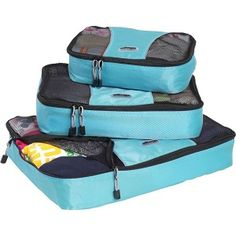Packing Cubes Video Tutorial: Learn How to Pack Light! eBags Regular Size Assorted Set