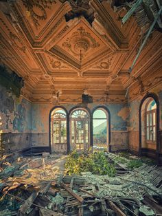 Lost | Forgotten | Abandoned | Displaced | Decayed | Neglected | Discarded | Disrepair | A Golden Moment is all that was left by Matthias-Haker on deviantART