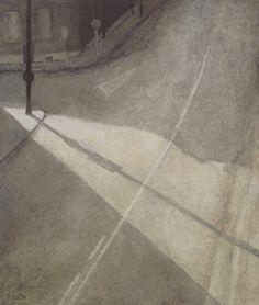 Miklos Szüts:  Városmajor street 2000/10    oil on canvas    85 x 100  cm