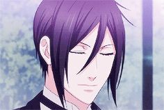 sebastian-is-my-lord:      kenmacchis:              Sebastian Michaelis in Book of Murder Part 2      Look at this cutie!!! ♥ ♥ ♥