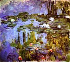 Claude Monet - Water Lilies, c. 1915