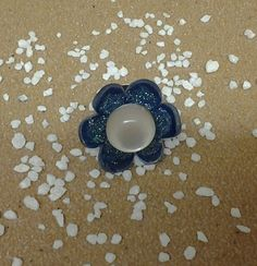 Blue Flower Ring £2.00    By Lisa Jane
