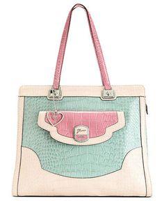 GUESS Handbag, Newlyn Satchel - Satchels - Handbags & Accessories - Macy's