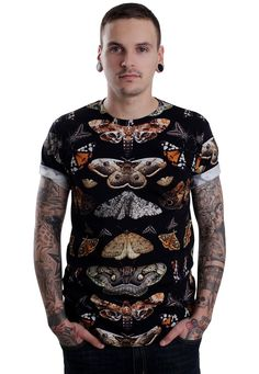Abandon Ship Apparel - Moth - T-Shirt - Official Streetwear Online Shop - Impericon.com Worldwide