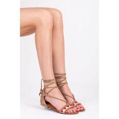 Dámské sandály Yeeze béžové AKCE – béžová Hit letních ulic! Lace-up šněrovací sandály v pohodlném provedení budou skvělou volbou pro toulání se městem, nebo pro jakoukoli jinou činnost. Sandály jsou doplněny o podrážku z umělé … Summer Shoes 2016, Gladiator Sandals, Blog, Ladies Sandals, Lace Up, Flats, Fashion, Moda, Fashion Styles