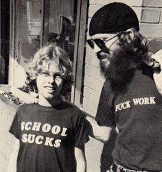 School sucks/Fuck work