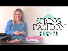Love watching my friend Audrey dish on what's hot for Spring! Spring Fashion How-To: Add Color Without Spending Hundreds