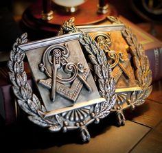 . Masonic Gifts, Masonic Art, Masonic Lodge, Masonic Symbols, Masons Masonry, Fossil, Eastern Star, Freemasonry, Knights Templar