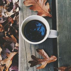 Coffee in the morning is always a good idea, and when you're sitting on a cabin porch looking at the view, it can't get much better. #vsco #vscocam #vscogrid #coffee #autumn
