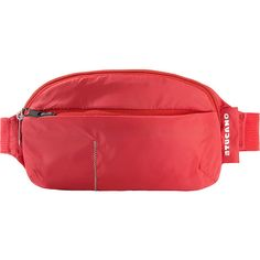 Tucano Compatto Waistbag - Red - Packable Travel Bags (76 RON) ❤ liked on Polyvore featuring red