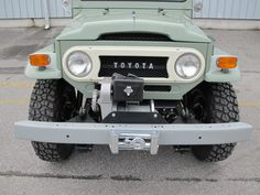 toyota-land-cruiser-fj40-1970-4×4-rare-clean-frame-off-restoration-green-japan-i | Land Cruiser Of The Day!