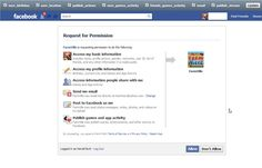 fPrivacy: Easily Control App Permissions On Facebook [Chrome]
