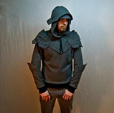Knight's armor hoodies....because it's just too funny not to have one
