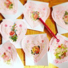 Handmade Valentines @LadyLucasArt