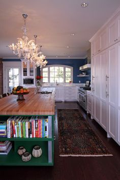 island   Home of the Year - eclectic - kitchen - denver - O Interior Design