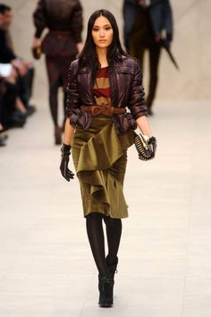 Burberry Prorsum Fall 2012 Runway - Ready-To-Wear Collection