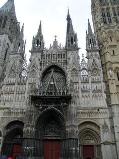 Rouen - gothic cathedral obsession