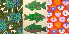 vintage fabric designs by Pat Albeck. I am a big fan of her earlier work. Textile Patterns, Textile Design, Fabric Design, Print Patterns, Pattern Art, Pattern Design, Surface Pattern, Home Furnishing Accessories, Mid Century Modern Decor