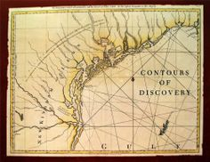 ANTIQUE MAPS - $199.99 - Contours of Discovery: Printed Maps Texas 1513-1930  First Edition 1981