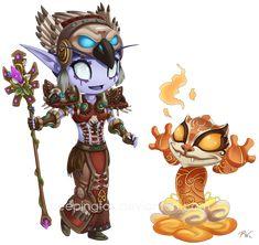 World of Warcraft Hestiah by Sleepingfox on deviantART