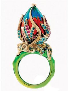 Dior ring by Victoire de Castellane