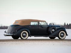 Lincoln Model K Convertible Sedan - 1937  Le Baron