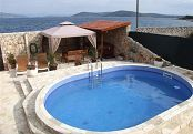 Ferienhaus -  2900 - Drvenik Mali (Insel Drvenik Mali) - mit Pool