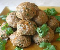 Best Turkey Meatballs With Sesame Lime Sauce Recipe on ...