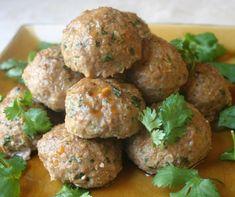 Best Turkey Meatballs With Sesame Lime Sauce Recipe on ...