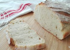 Házi kenyér élesztős kovásszal Bread, Food, Brot, Essen, Baking, Meals, Breads, Buns, Yemek