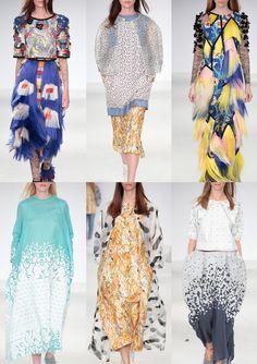 Graduate Fashion Week 2014   Catwalk Print & Pattern Highlights catwalks  University of East London