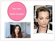 Tuto (vidéo) : Eye liner, mode d'emploi Easy Blush