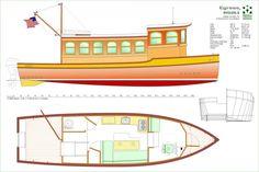 28' Riverboat, Cindy Lou - Boat Design Forums