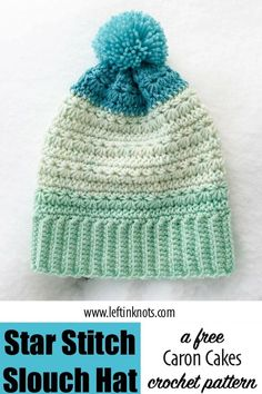 fbb3c103f2a This free crochet pattern will show you how to crochet a modern slouchy hat  with beautiful