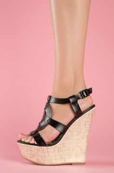 Lola Shoetique Summer Party in Black $31.99