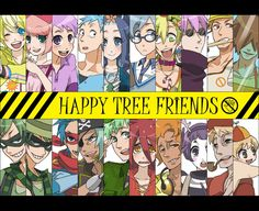 Happy Tree Friends Anime Version