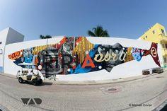 sea walls murales5 660x440 Sea Walls: Murales terminados, Isla Mujeres
