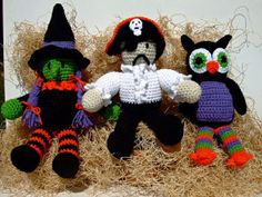 Picture of Halloween Visitors Crochet Pattern