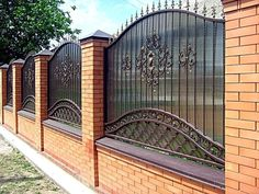 House Fence Design, Modern Fence Design, Balcony Railing Design, Steel Gate Design, Iron Gate Design, Front Yard Walkway, Modern Railing, My House Plans, Boundary Walls