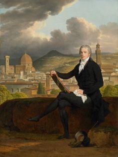LOUIS GAUFFIER - Portrait of Dr. Thomas Penrose (1769-1851), 1798
