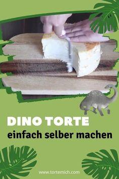 Wenn du für den Kindergeburtstag eine Dino Torte oder Dino Kuchen zaubern sollst, dann hilft dir unser Tortenset Dinopark und die dazugehörige Anleitung beim selbermachen. Im Set ist alles enthalten, was du dafür brauchst (ausser Butter, Milch und Ei). Unser Tutorial enthält auch die nötige Schablone und die Dino Torte wird ganz ohne Fondant gemacht. Motivtorten machen war noch nie so einfach und sie sehen so wunderschön aus, wie bei Sallys Welt. #Dinotorte #Sallyswelt #ohneFondant Super Torte, Parrot, Fish, Butter, Cakes, First Birthday Girls, Dino Cake, Parrot Bird, Parrots
