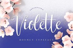 Violette Typeface by Face Lab Inc. on @creativemarket
