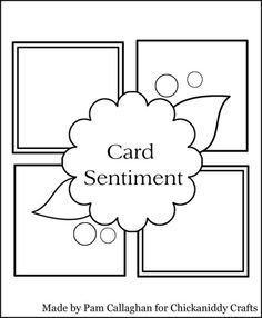 July Card Sketch