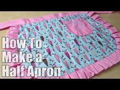 Stylish Retro Apron So Easy to Make! - DIY Joy